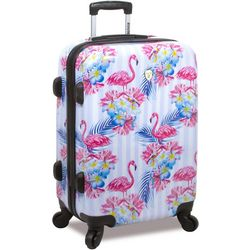 Rolite 20'' Flamingo Stripe Hardside Spinner Luggage