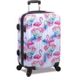 Rolite 28'' Flamingo Stripe Hardside Spinner Luggage
