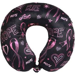 Sutton Breast Cancer Awareness Travel Pillow