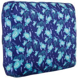 Sea Turtle Square Travel Pillow