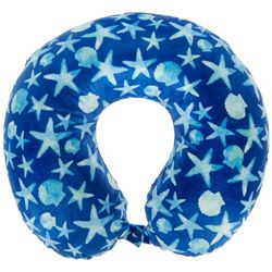 Ocean Shells Travel Pillow