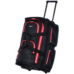 22'' Two-Tone 8-Pocket Rolling Duffel Bag
