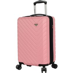 CIAO! 20'' Textured Hardside Spinner Luggage