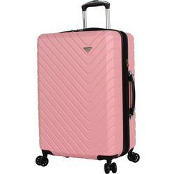 24'' Textured Hardside Spinner Luggage