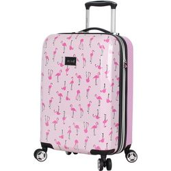 Betsey Johnson 20'' Flamingo Strut Spinner Luggage