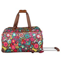 Lily Bloom 20'' Playful Garden Wheeled Duffel Bag