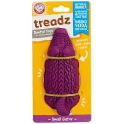 Treadz Gator Dental Dog Toy