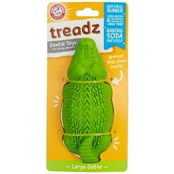 Treadz Super Gator Dental Dog Toy