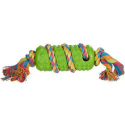 Bounce & Pounce Stick Braided Rope Dog Toy