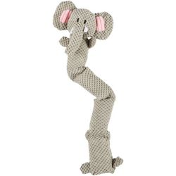 Bounce & Pounce Safari Elephant Squeaker Dog Toy