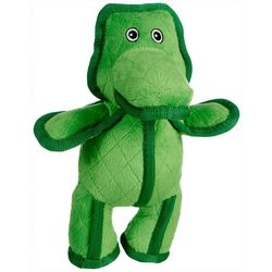 Bounce & Pounce Quilted Gator Dog Toy