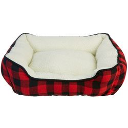 Slumber Pet Buffalo Plaid Dog Bed