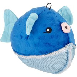 Griggles Aquadude Puffer Fish Dog Toy