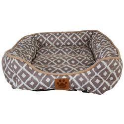 Precision Modern Ikat Dog Bed