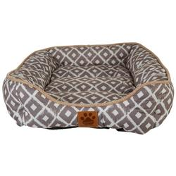 Ikat Dog Bed