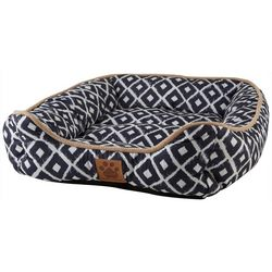 Precision Modern Ikat Dog Bed