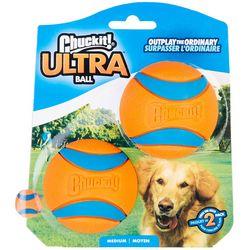 2-pk. Ultra Ball Dog Toy Set