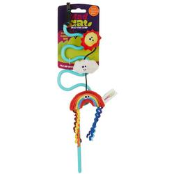 Rainbow Wand Cat Toy