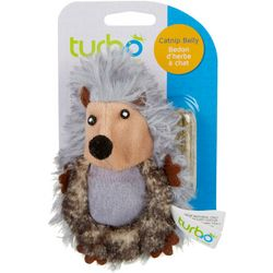 Turbo Hedgehog Cat Toy & Catnip Belly