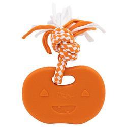 ZippyTuff Pumpkin Teether Dog Toy