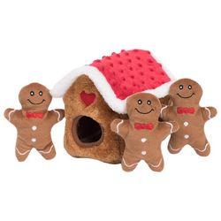 Zippy Paws Burrow Gingerbread Hide & Seek Dog Toy