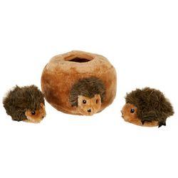Zippy Paws Hedgehog Den Burrow Dog Toy