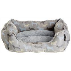 Details Dog Print Cuddler Dog Bed