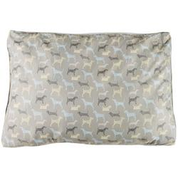 Dog Print Large Dog Bed