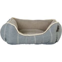 Details 20'' Farm House Stripe Dog Bed