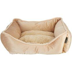 Details 20'' Velvet Cuddler Dog Bed