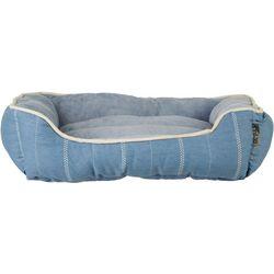 Details 24'' Farm House Stripe Dog Bed