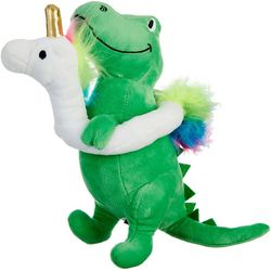Fringe Studio Dino & Unicorn Float Dog Toy