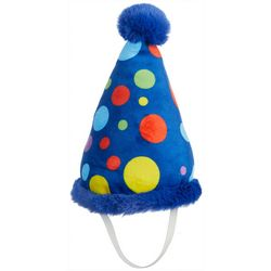 7.5'' Birthday Hat Dog Toy