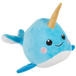 Fringe Studio Baby Narwhal Plush Dog Toy