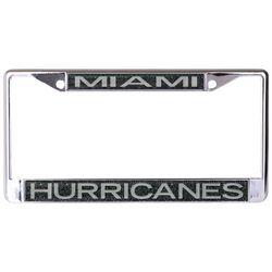 Miami Hurricanes License Plate Frame