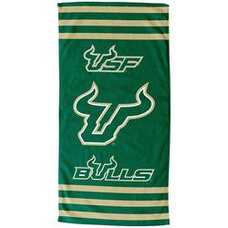 USF Bulls Beach Towel