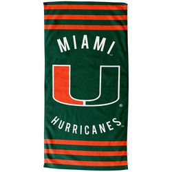 Miami Hurricanes Beach Towel by Northwest