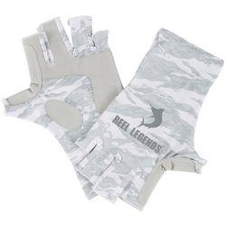 Reel Legends Mens Keep It Cool Marble Gloves