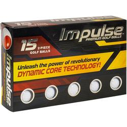 15-pk. Impulse Premium Golf Balls