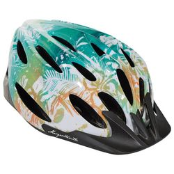 Margaritaville Adult Tropical Palms Bicycle Helmet