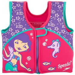 Speedo Girls Mermaid Swim Flotation Vest