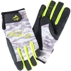 Loco Skailz Mens Halftone Camo Performance Fishing Gloves