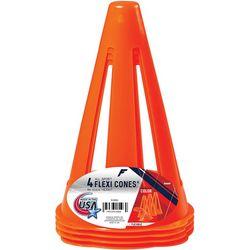 4-pk. All Sport Flexi Cone Set