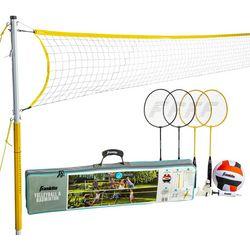 Franklin Sports Volleyball & Badminton Set