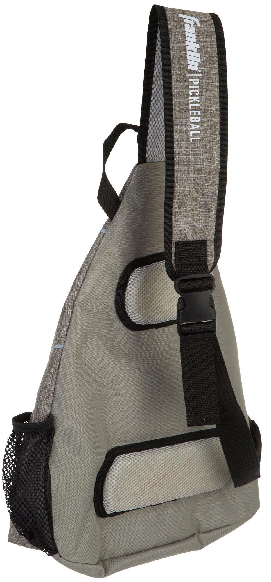 *NEW* Franklin Sports Pickleball X Elite Multi-Purpose Sling Bag Backpack Grey