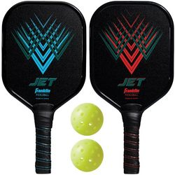Franklin Sports Jet Aluminum Pickleball Performance Set