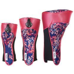 Womens 3-pc. Fairy Coral Golf Club Headcover Set