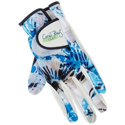 Womens Palm Print Golf Glove