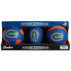 Florida Gators 3-pk. Mini Football Basketball Soccer Set