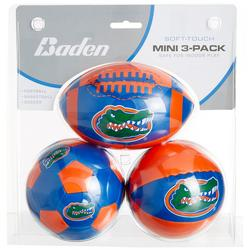 3-pk Mini Soft Football Basketball Soccer Set